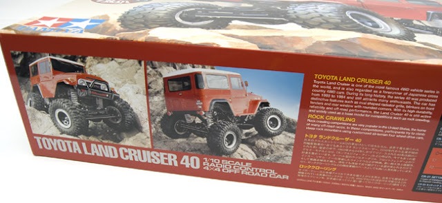 Tamiya CR-01 Toyota Land Cruiser