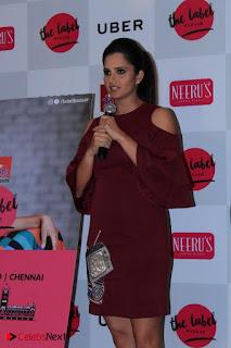 Indian Tennis Star Sania Mirza Pos in Red Short Dress at  0008.jpg