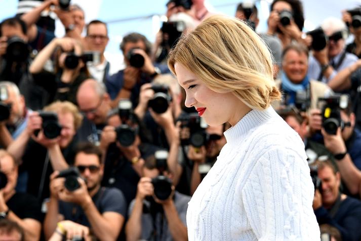 Léa Seydoux en Cannes