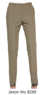 Sydney Fashion Hunter - She Wears The Pants - Jason Wu Olive Women's Work Pants