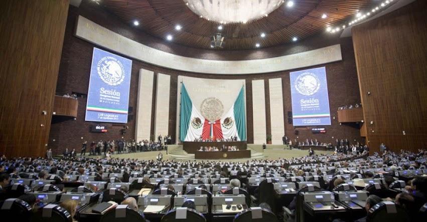 EJEMPLAR: Parlamento de México aprueba bajar sueldos de altos funcionarios y quitar las pensiones a los expresidentes