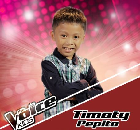 "Timoty Pepito sings ""Natutulog ba Ang Diyos,"" joins Team Sharon on Voice Kids Season 3"