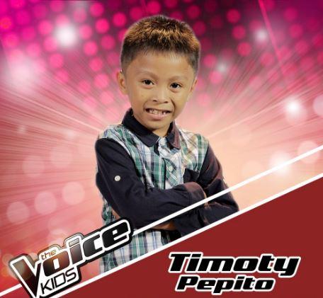 "Timoty Pepito sings ""Natutulog ba Ang Diyos,"" joins Team Sharon on Voice Kids Season 3"