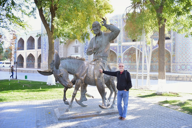 Nasreddin Hoca heykeli, Özbekistan