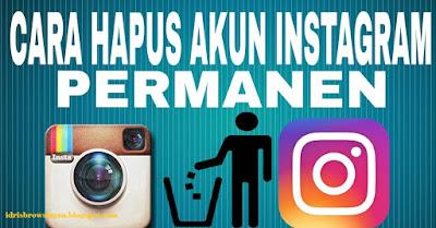 Cara Menonaktifkan Akun Instagram Permanen