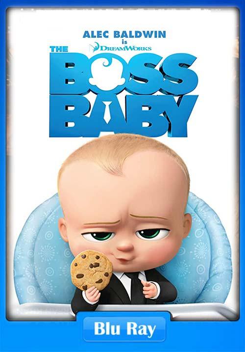 The Boss Baby 2017 720p BluRay Dual Audio Hindi ESub x264 | 480p 300MB | 100MB HEVC