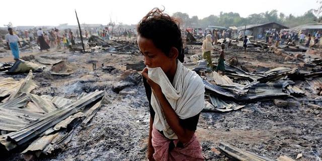 Astaghfirullah ! Pengakuan Wanita Muslim Rohingya Dan Anak nya Diperkosa 4 Tentara Myanmar