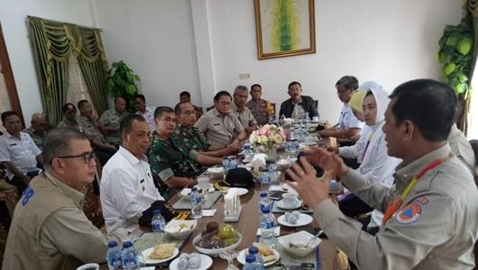 Kepala BNPB Ingatkan Kepala Daerah Agar Izin IMB Perhatikan Faktor Bencana