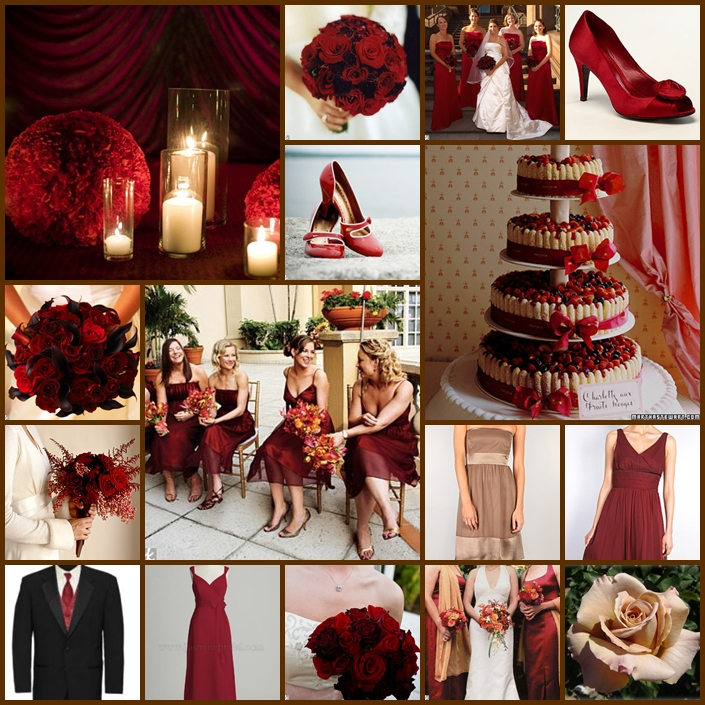 Wedding Red And White Theme: Inspiration Songket Affairs : Fab Fridays: 2011 Wedding Trends