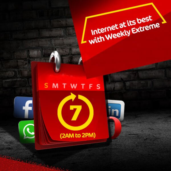 Jazz announced weekly extreme offer for their prepaid customers. Jazz continue provide great internet offer for their 2G and 3G customers. This offer is so great offer for each jazz prepaid user. Jazz prepaid users can enjoy 1500MB internet data at Rs 70 only for 7 days. This data offer applicable from 2AM to 2PM in a day. This offer available for Jazz 2G and 3G users. Now jazz prepaid user can subscribe this offer just dialing *117*14*2#.