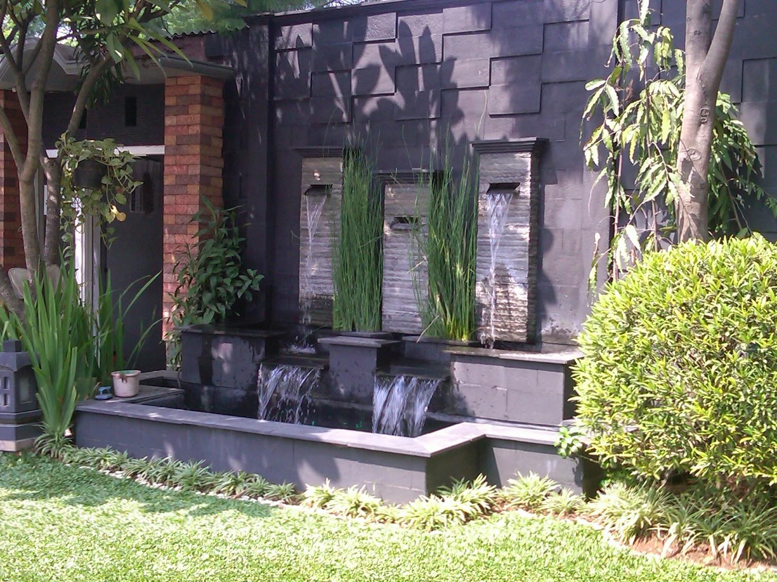 Desain Taman Rumah dan Kolam Minimalis | Tukang Taman Jakarta Kota