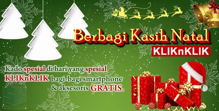 Promo Kasih Kado Natal Berhadiah BOLT 4G PowerPhone IVO V5