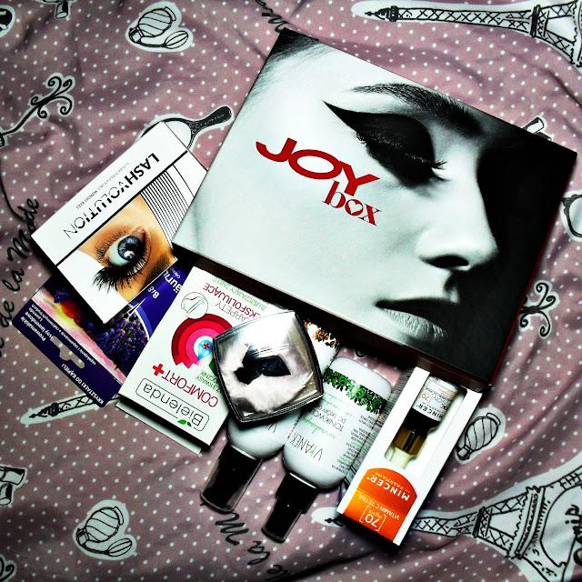 Jaram się - czyli o kolejnej fajnej edycji Joyboxa ;) | JOYBOX Jesienna pielęgnacja | Październik 2016