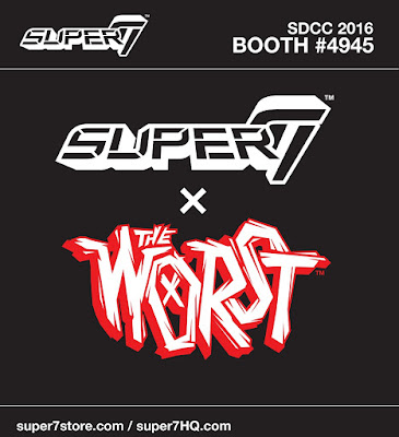 San Diego Comic-Con 2016 Exclusive The Worst Vinyl Figure by Super7