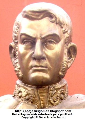 Foto a la cara de José de San Martín por Jesus Gómez