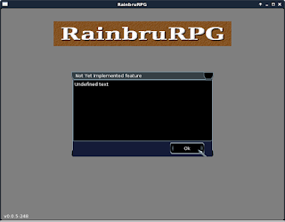 Current state of the RainbruRPG client revision 251