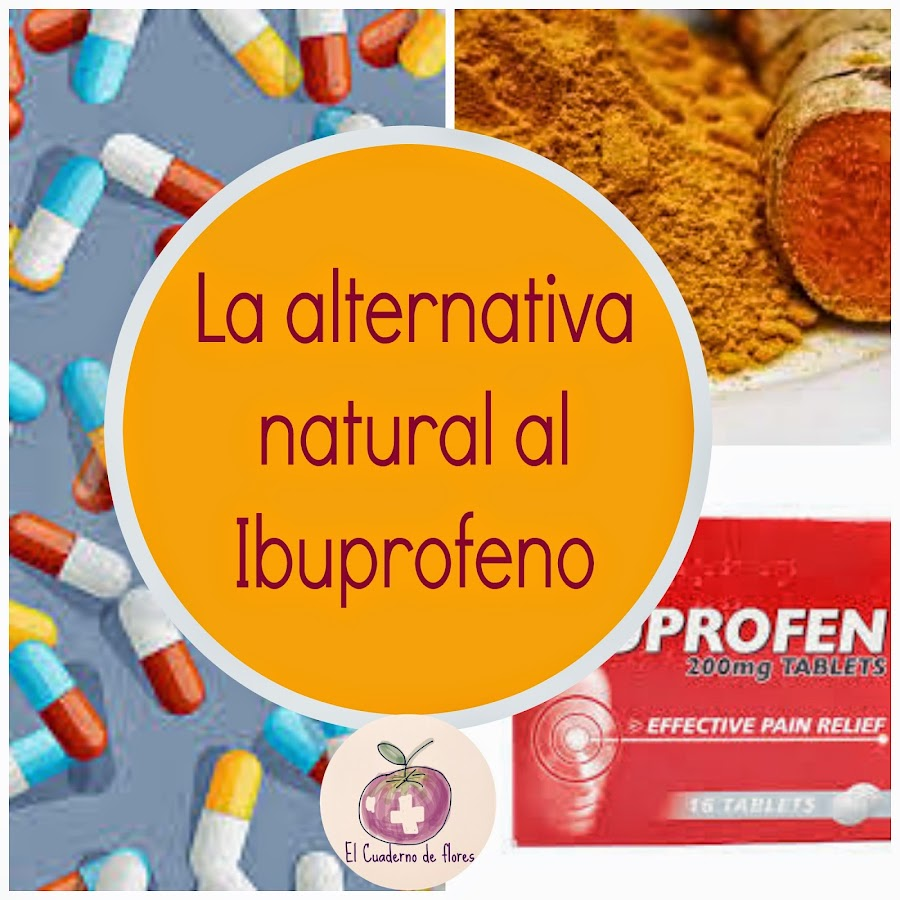 La alternativa natural al ibuprofeno
