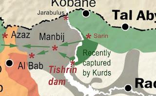 Syria: Kurdish-led forces enter ISIL-held Manbij city