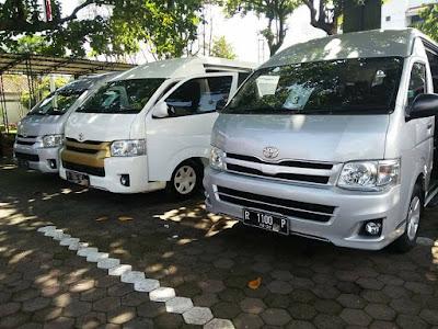 BRI City Tour Menggunakan Armada HIACE 3 Unit Adi Rental Mobil