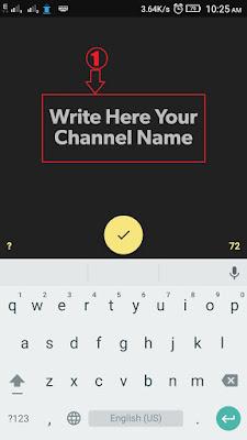 Open App enter text