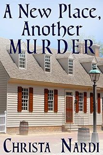 A New Place, Another Murder - a cozy mystery book promotion Christa Nardi