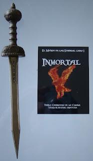 Portada del libro Inmortal, de Pablo Carnicero de la Cámara