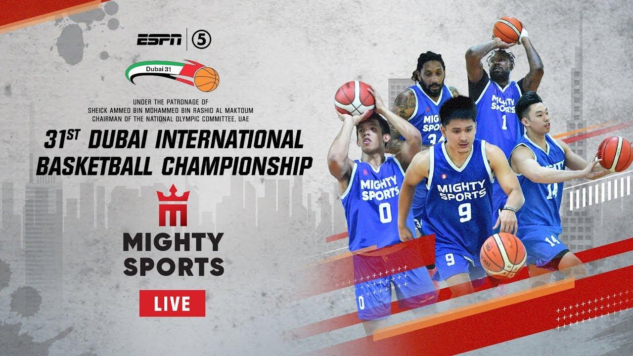 Mighty Sports def. Al Ittihad of Aleppo, 77-72 (REPLAY VIDEO) Dubai International Basketball Championship | January 24