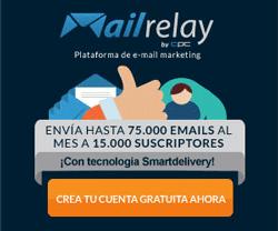 Crea una cuenta de Mailrelay