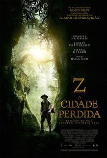 Z A Cidade Perdida 2017 Dublado