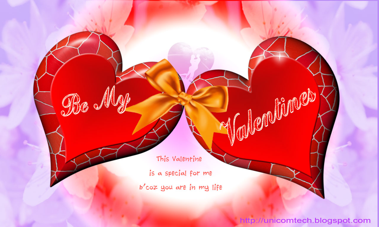 Free greeting cards Download cards for festival. 1280 x 768.Free Valentine's Day Card Download