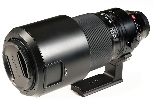 Hejnar FUJI-100-400-FOOT on FUJINON XF100-400mm F4.5-5.6R front
