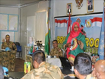 47 Perwira TNI Satgas Indobatt-02 Ikuti Induction Training di Darfur