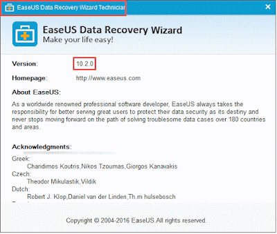 EaseUS Data Recovery Wizard 10.5 Crack [Serial Key]