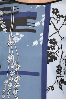 Allesia Digital Print Crepe Kurti by FashionDiya Rs. 429