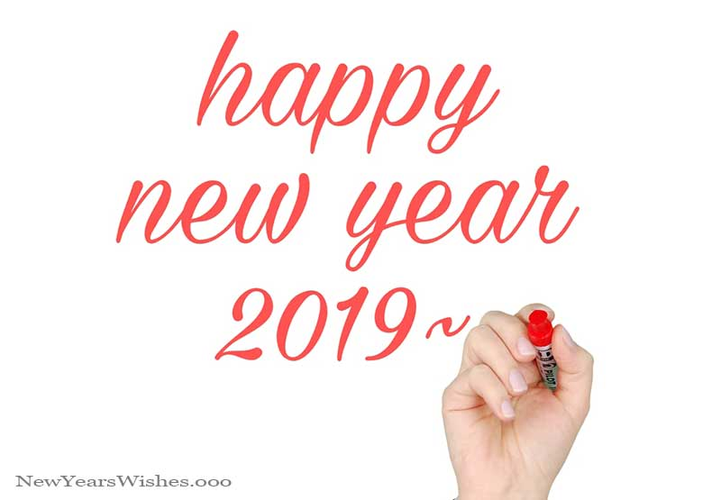 wishing everyone a happy new year