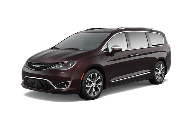 Chrysler Pacifica 2017 Couleurs Colors