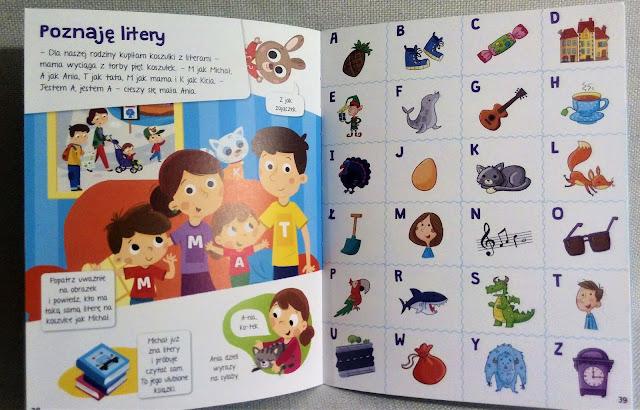 """""""Księga wiedzy małego dziecka"""" Wydawnictwo Aksjomat alfabet"""