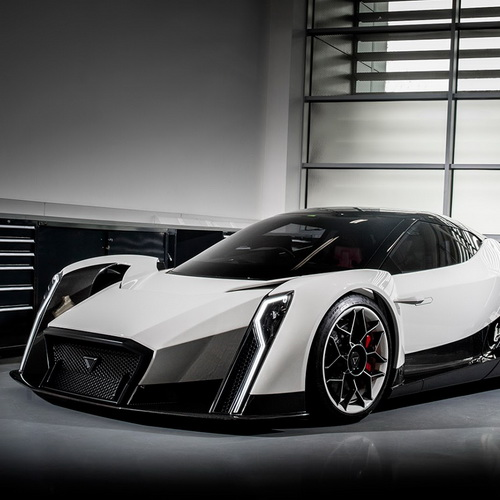 Tinuku Vanda Dendrobium electric hypercar from Singapore came to greet the world's future global e-mobility