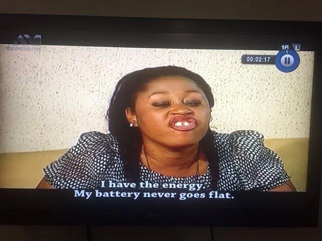 Lol. Hilarious captions from a Yoruba movie