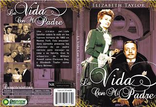 Carátula: La vida con mi padre (1938) (Life with father)