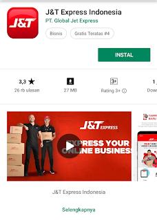 Aplikasi J&T Android