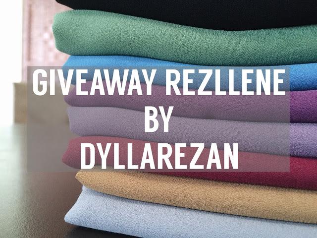 GIVEAWAY REZLLENE BY DYLLAREZAN