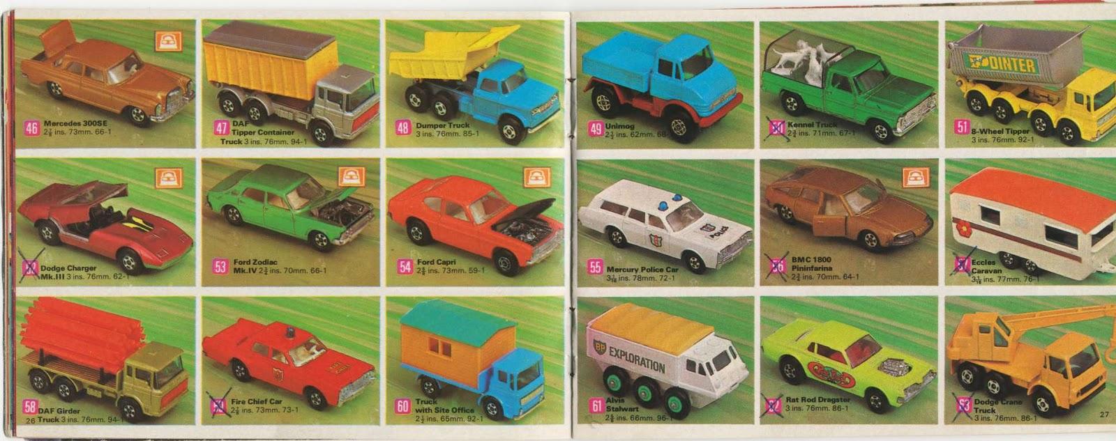 Matchbox Memories: Katalógusok: 1971 Matchbox Collectors