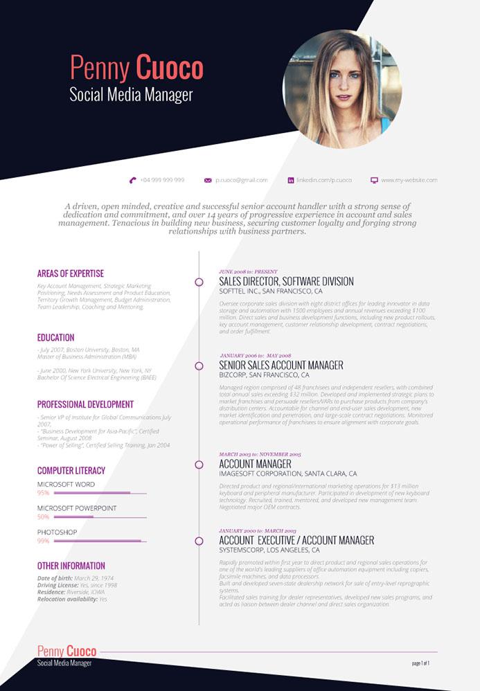 Curriculum Vitae / Resume . Jika kamu ingin kerja, wajib baca !!!