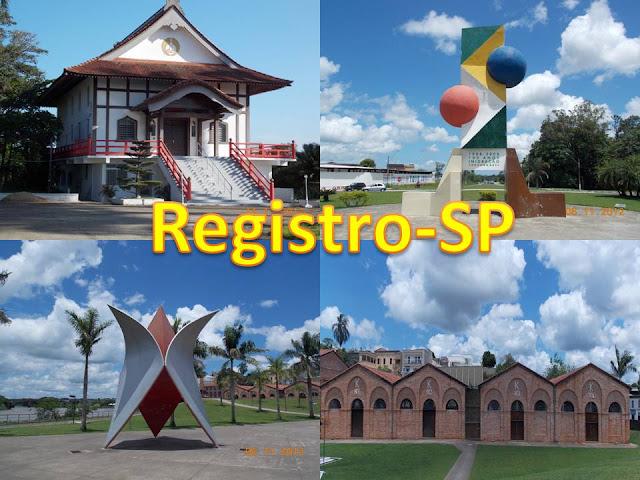 Seja bem vindo a Registro-SP