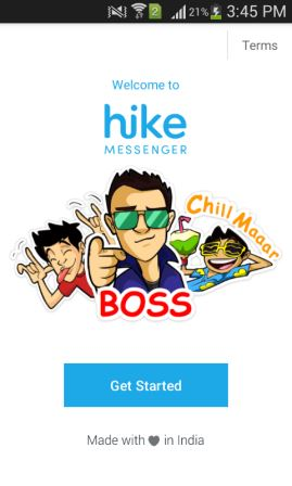hike messenger front page