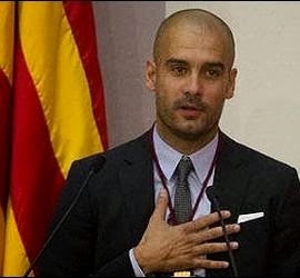 Pep Guardiola is proud to be Catalan