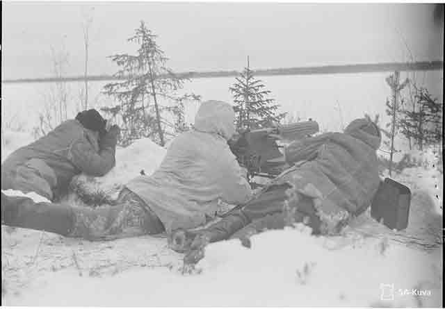 Kestenga Finnish machine gun nest, 11 November 1941, worldwartwo.filminspector.com