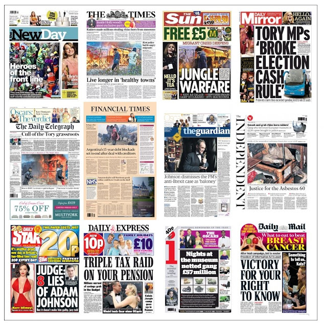 front pages 01-03-16