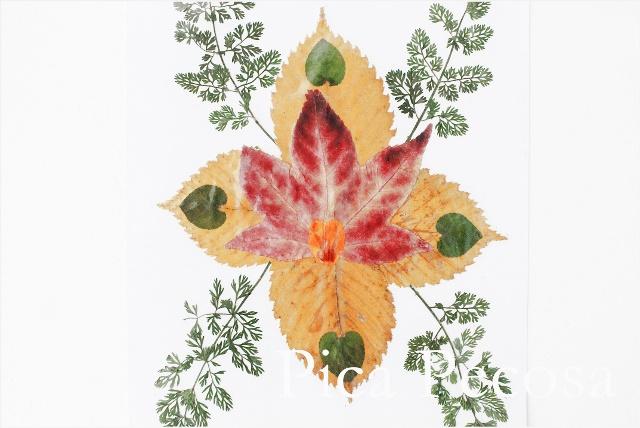 como-hacer-tarjeta-con-hojas-secas-de-otoño-diy-07